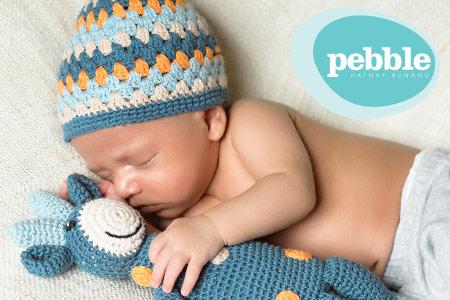 Vendita Pebble: sonagli per bambini deliziosi e di qualità fatto a manno nel modo equo online