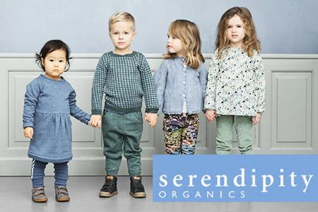 Vendita Serendipity Organics: abbigliamento bio per neonati e bambini di alta qualita, stile e sostenabilità online