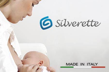Vendita Silverette: paracapezzoli in argento: un rimedio naturale contro le ragadi al seno online