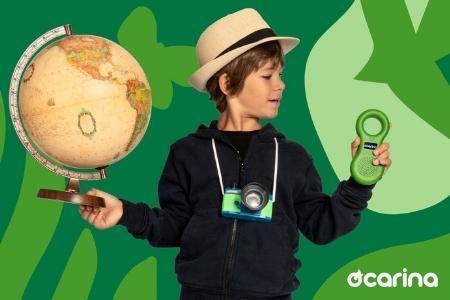 Vendita Ocarina lettore mp3 per bimbi, realizzato con materiali atossici e made in Italy online
