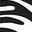 Wishbone Stickers - Recycled Edition - Zebra - Adesivi per la personalizzazione