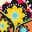 Wishbone Stickers - Recycled Edition - Paisley - Adesivi per la personalizzazione