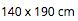 Coperta Estiva 140 x 190 - Cipria - 100% Mussola di Cotone