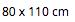 Coperta Estiva 80 x 110 Bianca - 100% Mussola di Cotone