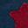 Borsellino Super Eroe con stella, Blu - Regalino perfetto per le feste