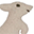 Animaletto di stoffa, Canguro - Regalino perfetto anche per le feste