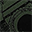 Mini Macchina Fotografica di Stoffa, Verde - Perfetto regalino per le feste
