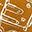 Mini Pistola di Stoffa - Ocra - Perfetto regalino per le feste