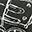 Mini Pistola di Stoffa - Nero - Perfetto regalino per le feste