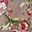 Borsellino Fantasia - Rosa con Roselline - Regalino perfetto per le feste!