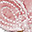 Collana Uncinetto Farfalla Velluto - Rosa - Regalino perfetto per le feste
