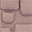Porta Oggetti da Muro - Rosa Antico - Tela di Cotone