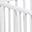 Louis, Box Ovale in Legno di Faggio, Bianco - Quattro sbarre amovibili!