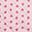 Trapunta Baby Reversibile 115 x 140 cm, Rosa+Foglie - 100% cotone