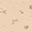 Pezza in Mussola di Cotone, Rosa con Stampa Bergamotto – 60x60 cm – 100% Cotone bio
