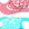 Set da 2 Ciucci in Silicone Ortodontici Extra-Morbidi 6+ mesi, Pesca e Turchese - Senza BPA!