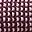 Sciarpa Melange, Prugna - 100% lana merino