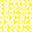 Tappeto Gioco Matelas, Foglie Gialle - 100% Cotone Bio, 100 x 100 cm