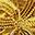 Collana Uncinetto Farfalla Velluto - Oro - Regalino perfetto per le feste