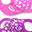 Set da 2 Ciucci in Silicone Ortodontici Extra-Morbidi 6+ mesi, Rosa-Viola - Senza BPA!